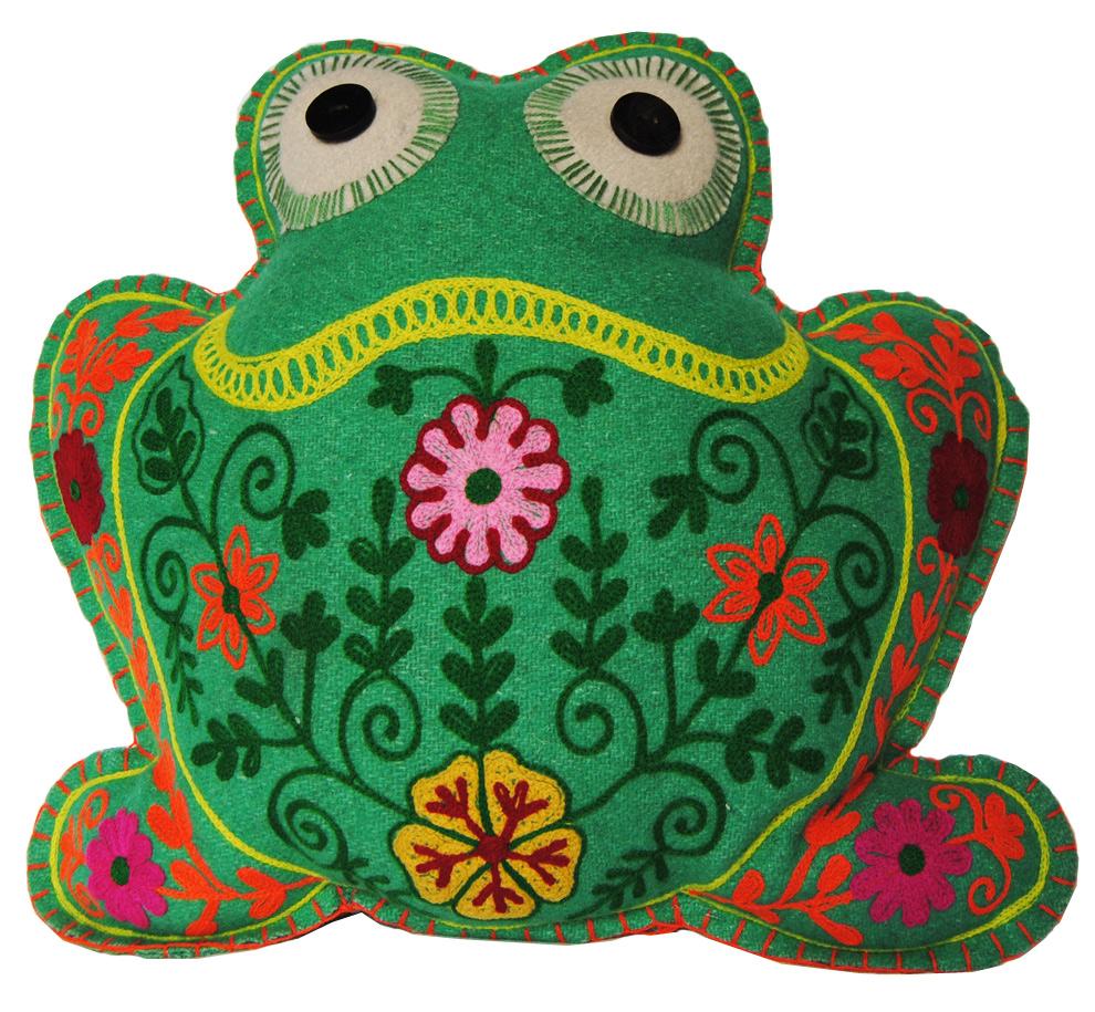 Kissen - Frosch